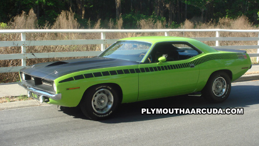 1970 Plymouth AAR Cuda Wallpaper - Image 2.