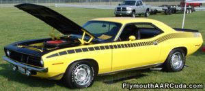 1970 Plymouth AAR Cuda Performance