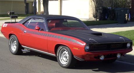 1970 Plymouth AAR Cuda By Bruce Somer