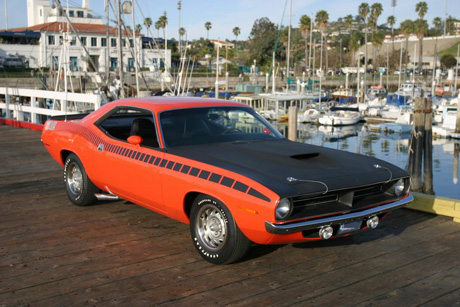 1970 Plymouth AAR Cuda By David Fogg