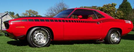 1970 Plymouth AAR Cuda By Drew Park