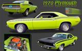 1970 Plymouth AAR Cuda By Joel Rutledge