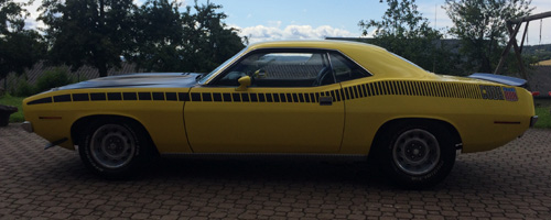 1970 Plymouth AAR Cuda By Kemal Cinar Image 2