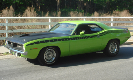 1970 Plymouth AAR Cuda By Tara Bush