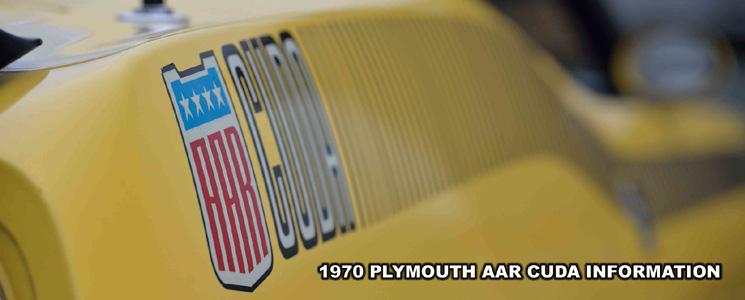 1970 Plymouth AAR Cuda Logo