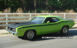 Plymouth AAR Cuda Desktop Wallpaper 2
