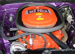 AAR Cuda 340 Six-pack Engine