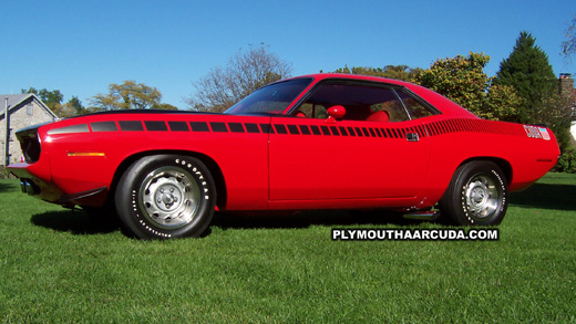 1970 Plymouth AAR Cuda Desktop Wallpaper Image 6