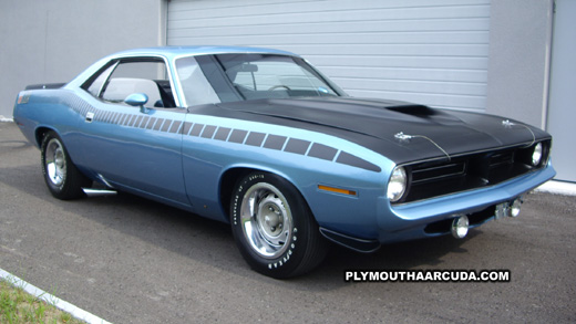1970 Plymouth AAR Cuda Desktop Wallpaper Image 7