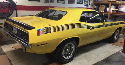 1970 Plymouth AAR Cuda Buy Carl Cuda 2